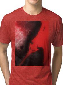 Red Moon Tri-blend T-Shirt
