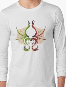 Heaven and Earth - Rathalos x Rathian Long Sleeve T-Shirt