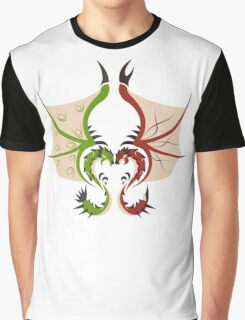 Heaven and Earth - Rathalos x Rathian Graphic T-Shirt