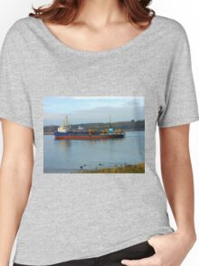 Ship Entering The River Tyne Women's Relaxed Fit T-Shirt