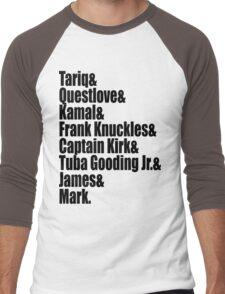 The Legendary Roots Crew  Men's Baseball ¾ T-Shirt