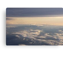 Dawn In The Skies Above England III Canvas Print