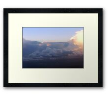 Dawn In The Skies Above England V Framed Print