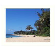 Sunset Beach, O'ahu, Hawaii Art Print