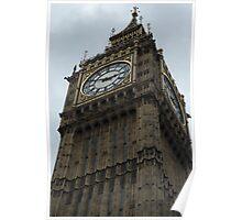 Big Ben Clock Tower II, Houses of Parliament, London, England Poster