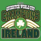 Quidditch World Champions, Vintage 1994 by Maggie Davidson