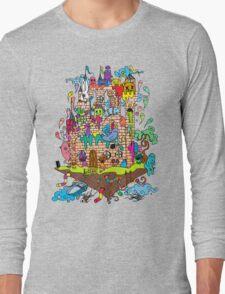 Monster Castle  Long Sleeve T-Shirt