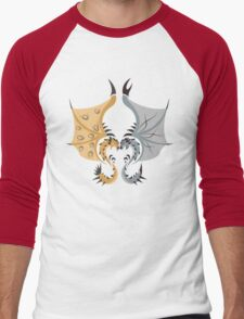 Heaven and Earth - Silver Rathalos x Gold Rathian T-Shirt