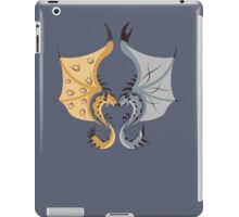 Heaven and Earth - Silver Rathalos x Gold Rathian iPad Case/Skin