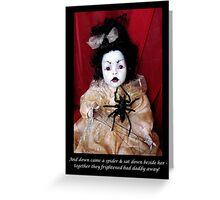 NURSERY CRYMES Spiderana Greeting Card