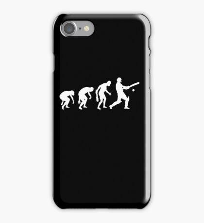 evolution of cricket t-shirt iPhone Case/Skin
