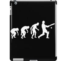 evolution of cricket t-shirt iPad Case/Skin