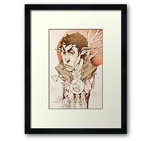 Bore and the Bird  Framed Print