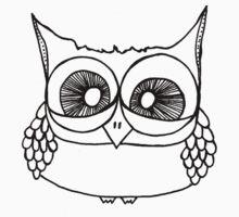 Freak-out Owl Kids Tee