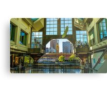 View to Flinders Street Station from Southgate Metal Print