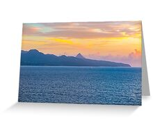 Ocean Scape Greeting Card