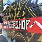 Graffiti Artist At Work by aussiebushstick
