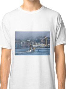 Snow White Returns - Newcastle Harbour NSW Australia Classic T-Shirt