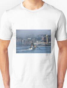Snow White Returns - Newcastle Harbour NSW Australia T-Shirt