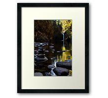 Punchbowl Waterfalls Framed Print