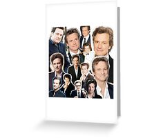 Colin Firth Greeting Card