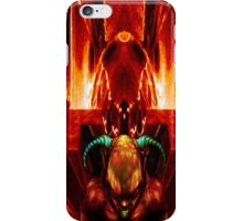 HEAVEN RIDES THE DEVIL'S BACK iPhone Case/Skin