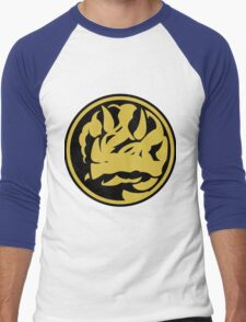 Triceratops Coin Men's Baseball ¾ T-Shirt