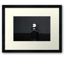Hard Core Cop Framed Print