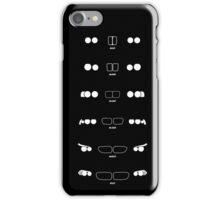 5 Heritage, 1972-Present day (E12, E28, E34, E39, E60, F10) Grungy vignette backgrounH iPhone Case/Skin