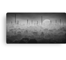 Industrial suburb  Canvas Print
