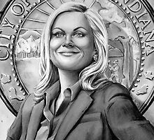 leslie knope by dollface87