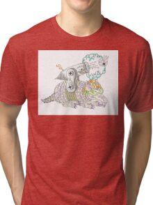 Tejas  Tri-blend T-Shirt