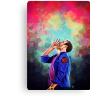 Is there anybody out there Canvas Print