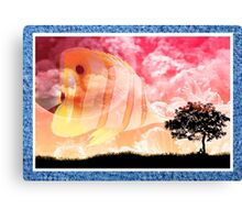 Land and Sea Canvas Print