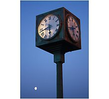 Moon Time Photographic Print