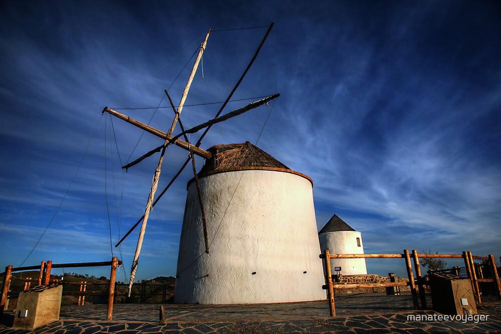 Silent Windmills by manateevoyager