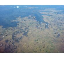 Earth from Sky Photographic Print