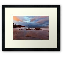 A Shot in the Dark - Little Bay, NSW Framed Print