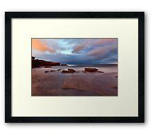 A Shot in the Dark - Little Bay, NSW Framed Print