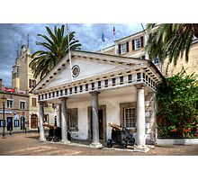 The Convent Guardhouse Gibraltar Photographic Print