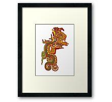 Vision Serpent Framed Print
