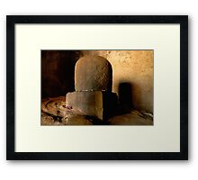 Holy Wall Framed Print