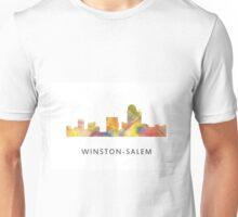 Winston-Salem North Carolina Skyline WB1 Unisex T-Shirt