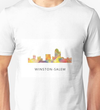 Winston-Salem North Carolina Skyline WB1 Unisex T-Shirt