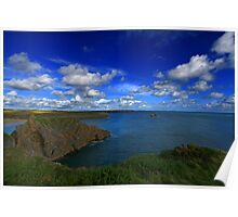 Broad Haven Bay,Pembrokeshire. Poster