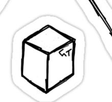 The Triangle of Craft Sticker