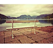 Lake Bled, Slovenia Photographic Print