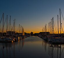 Racine harbour by TC3 Photography