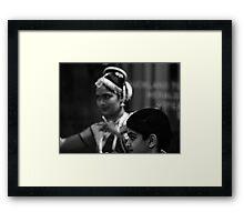 direct focus Framed Print