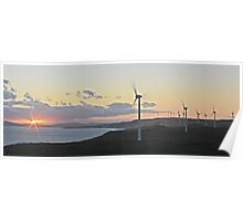 Albany windfarm Poster